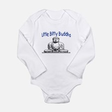 LITTLE BITTY BUDDHA Long Sleeve Infant Bodysuit
