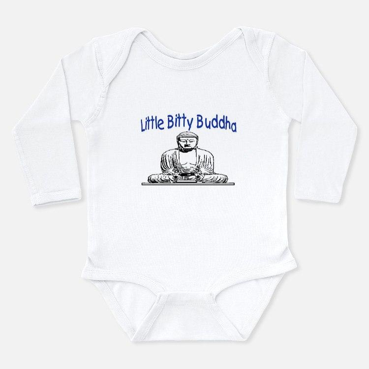 LITTLE BITTY BUDDHA Long Sleeve Infant Bodysuit