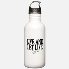 LIVE AND LET LIVE (DOVE) Water Bottle