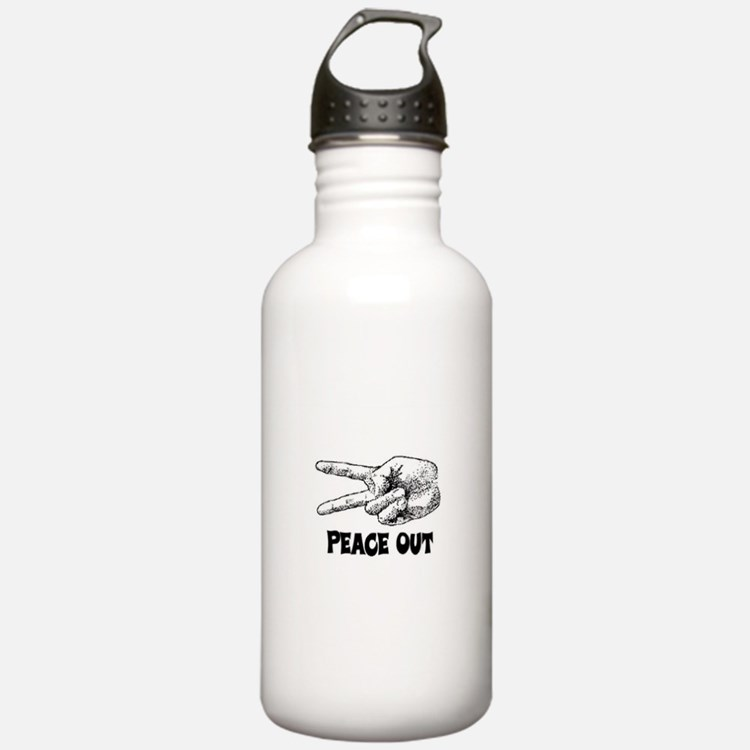 PEACE OUT! Water Bottle