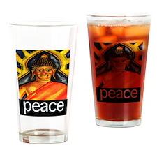 PEACE (Buddha) Drinking Glass