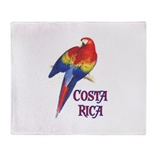 COSTA RICA II Throw Blanket