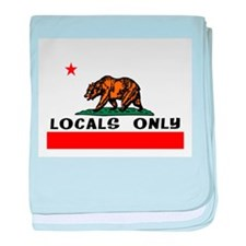 LOCALS ONLY baby blanket