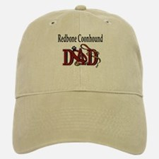 Redbone Coonhound Dad Baseball Baseball Cap
