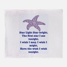 STAR LIGHT - STAR BRIGHT Throw Blanket