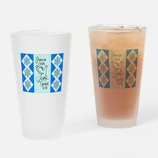 GOODWILL TO ALL... Drinking Glass