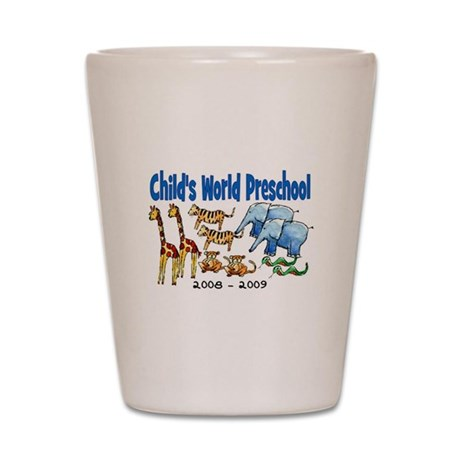 CHILDS WORLD PRESCHOOL Shot Glass