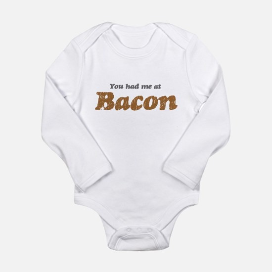 You Had me at Bacon Baby Outfits