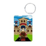 Roman Soldiers at Fort Photo Keychain