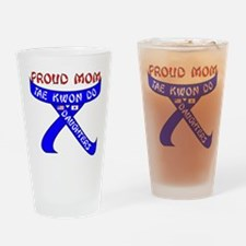 TKD Mom Daughters Drinking Glass