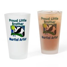 Martial Arts Little Brother Drinking Glass