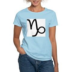 Astrological Sign - Capricorn Women's Pink T-Shirt