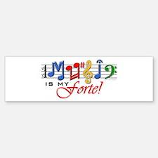 My Forte! Bumper Bumper Sticker