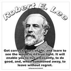 Robert E. Lee 01 Canvas Art
