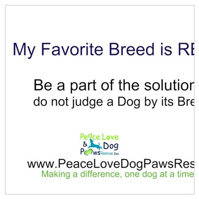 My Favorite Breed is RESCUED! Poster