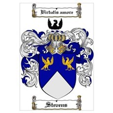 Stevens Coat of Arms Poster