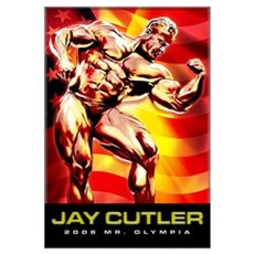 JAY CUTLER Canvas Art