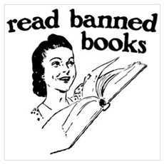 Read Banned Books Framed Print
