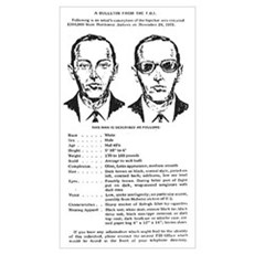 D.B. Cooper Wanted Poster