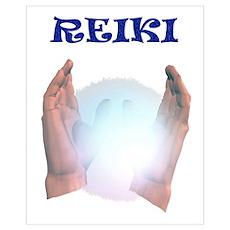 Reiki Hands Poster