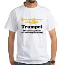 Gift For Trumpet Player White T-Shirt