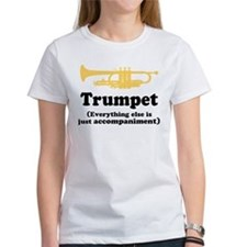 Funny Trumpet Gift Tee