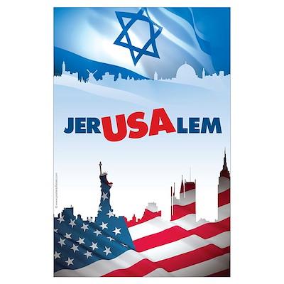 Jer-USA-lem Poster