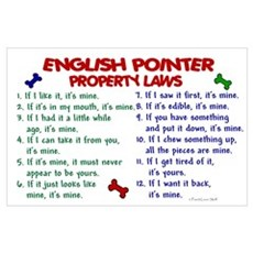 English Pointer Property Laws 2 Poster