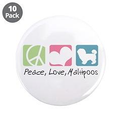 Peace, Love, Maltipoos 3.5