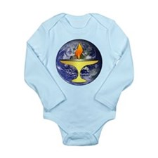 UU Chalice Long Sleeve Infant Bodysuit