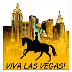 Viva Las Vegas, Dressage Poster