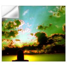 Peaceful Clouds & Sunset Wall Decal