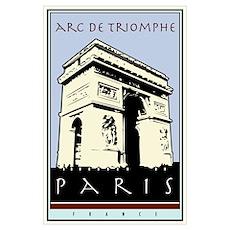 Paris, Arc de Triomphe Poster