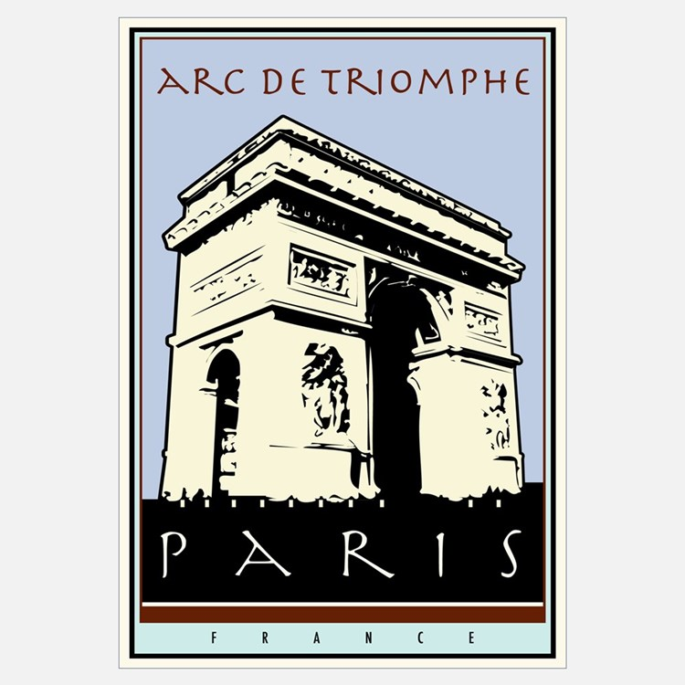 Arc de triomphe wall art arc de triomphe wall decor for Arc de triomphe wall mural