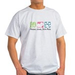 Peace, Love, Shih-Poos Light T-Shirt