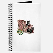Scottie Dog Christmas Journal