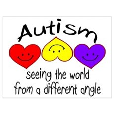 Autism, Seeing The World From A Different Angle Fr Poster