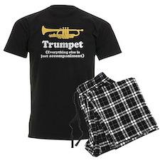 Trumpet Gift (Funny) Men's Dark Pajamas