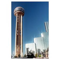 - Dallas Reunion Tower & Hotel Poster
