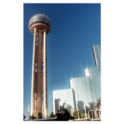 - Dallas Reunion Tower & Hotel Poster
