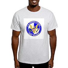 US Border Patrol Ash Grey T-Shirt