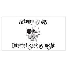 Actuary by Day Poster