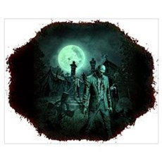 Zombies!! Framed Print