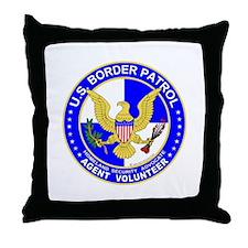 US Border Patrol  Throw Pillow
