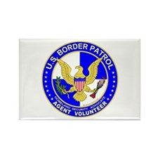 US Border Patrol Rectangle Magnet (10 pack)