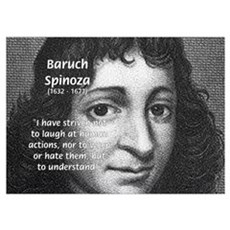 Philosopher Baruch Spinoza Poster