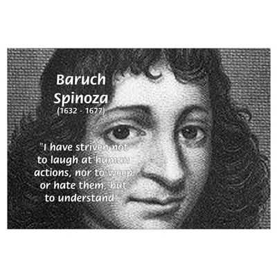 Philosopher Baruch Spinoza Canvas Art