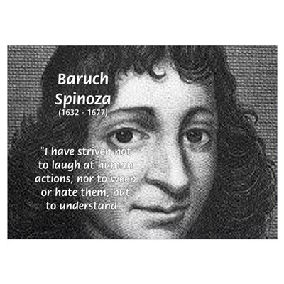 Philosopher Baruch Spinoza Poster