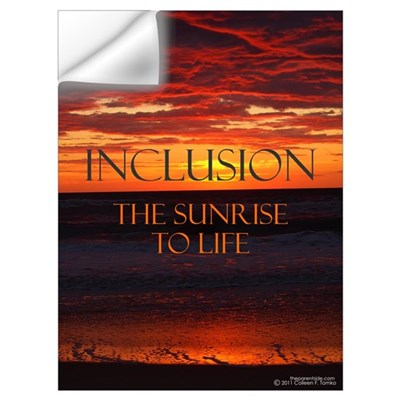 Inclusion the Sunrise to Life Wall Decal