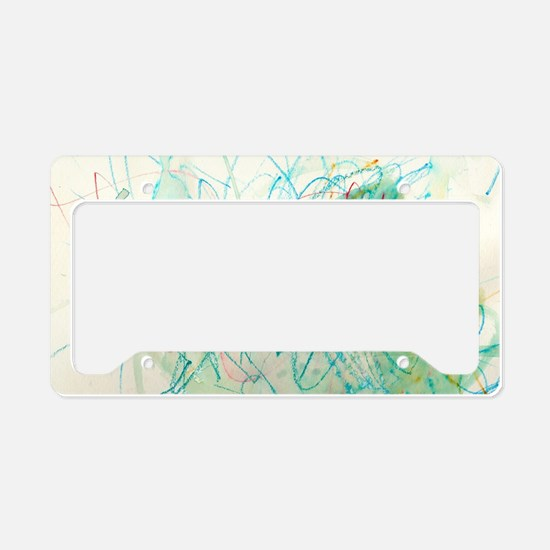 Cute Samantha License Plate Holder